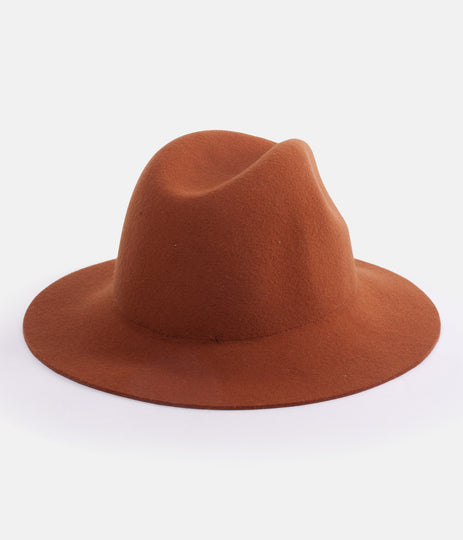 POCKET HAT BURNT ORANGE