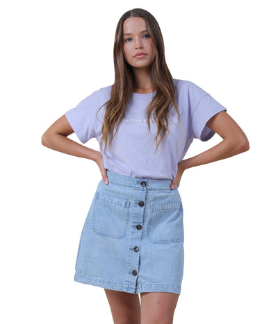 MAYFAIR SKIRT DENIM