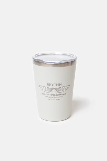 Project PARGO x Rhythm - 12oz Insulated Cup Bone White