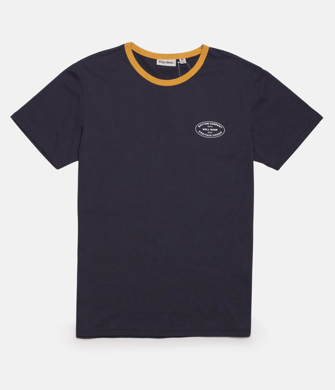 RINGER T-SHIRT MIDNIGHT NAVY