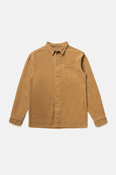 Corduroy Ls Shirt Tan