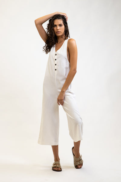 Honolulu Jumpsuit White