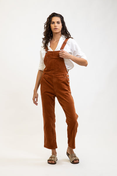 Edinburge Jumpsuit Rust
