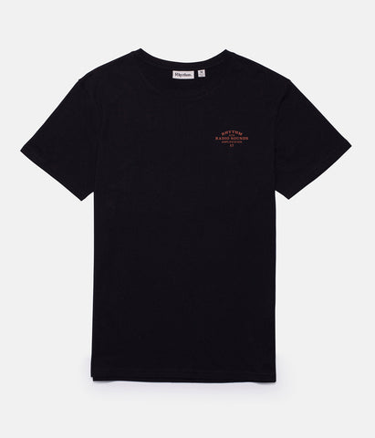RADIO LOGO T-SHIRT BLACK