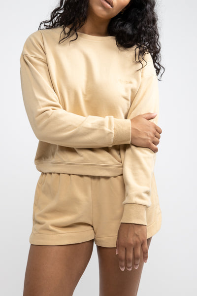 Legacy Pullover Tan