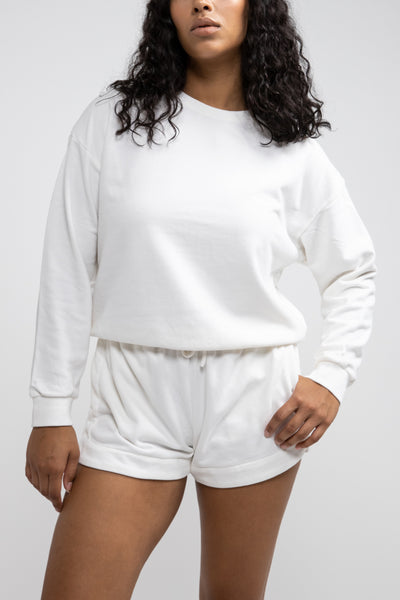 Legacy Pullover White