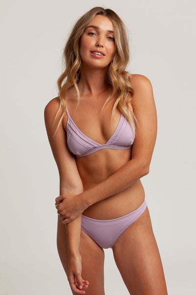 Seaside Bralette Top Lilac
