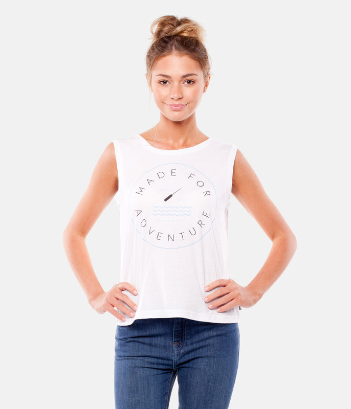 SET SAIL TANK WHITE