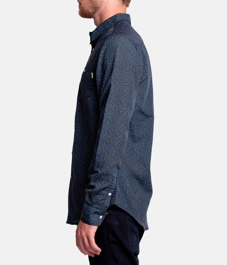 SMITH LS SHIRT NAVY