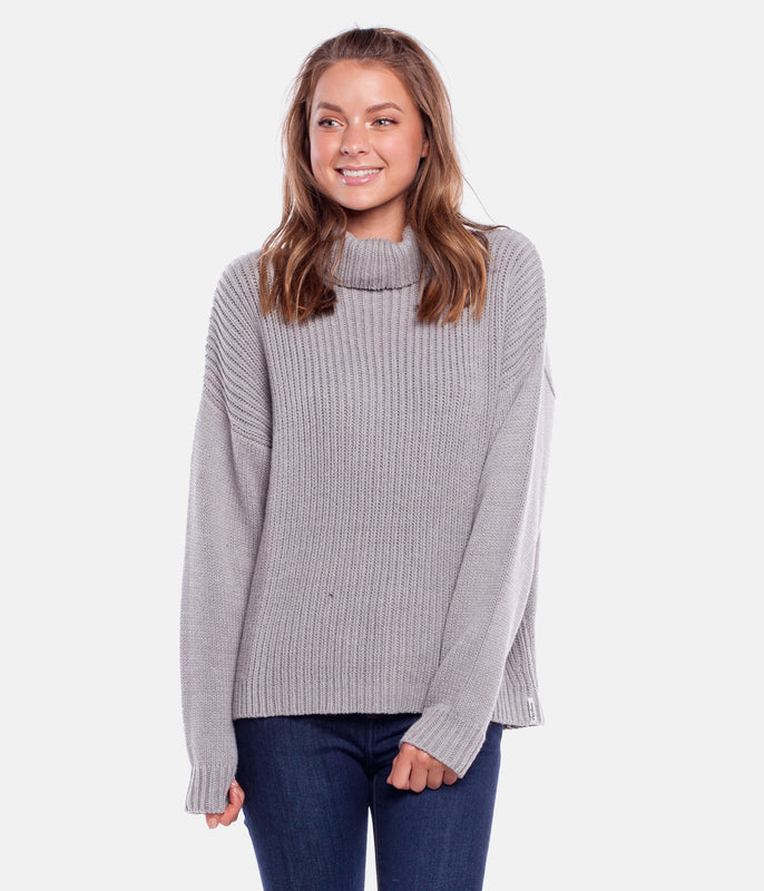 SNOWFLAKE KNIT GREY