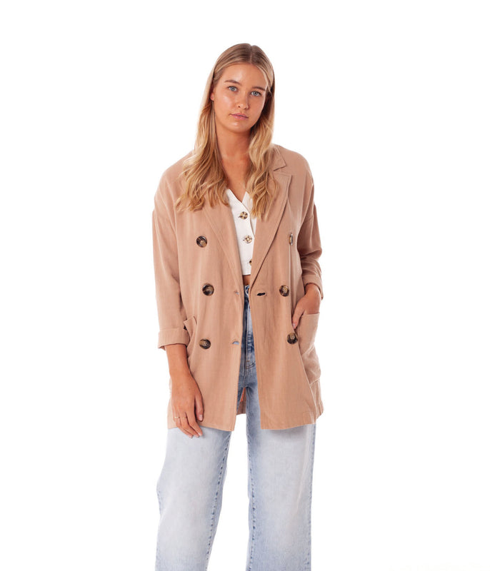 KIMBERLEY JACKET ALMOND
