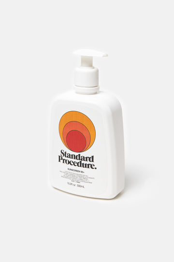 Standard Procedure 500ml Pump Sunscreen