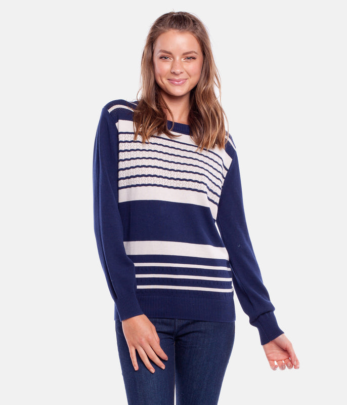 STROKES KNIT NAVY