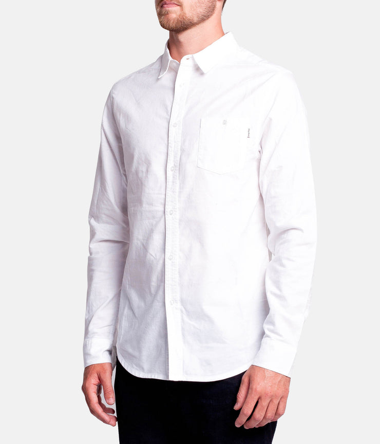 STUDIO LS SHIRT WHITE