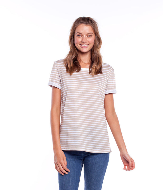 SWELL TEE TAUPE