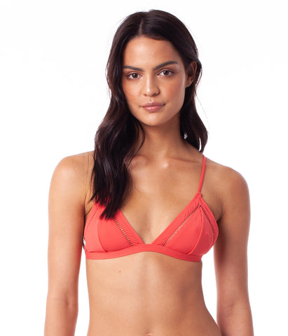 MY BRALETTE TOP NECTARINE