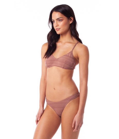 FLASHDANCE TRILETTE TOP ROSEWOOD