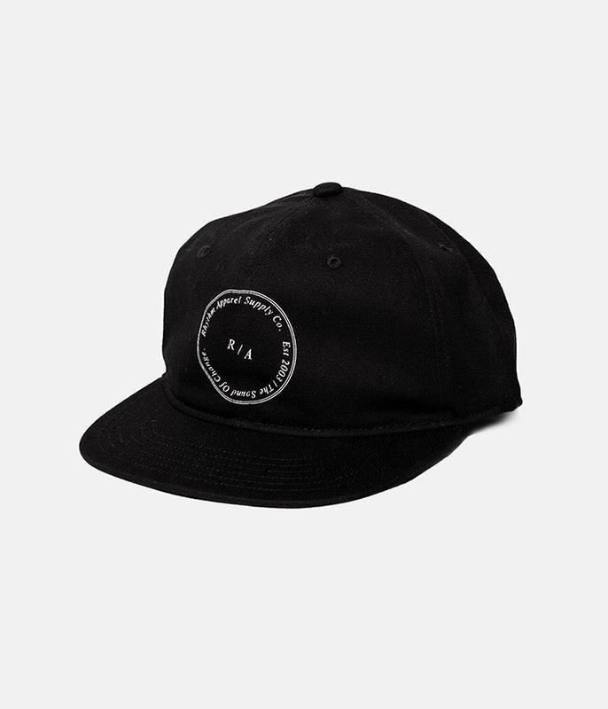 STAMP CAP BLACK