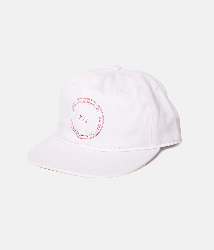 STAMP CAP WHITE