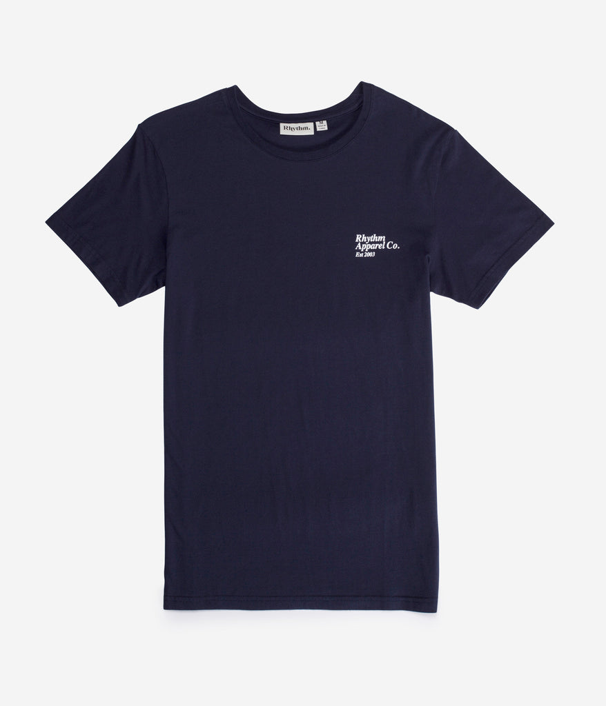LABEL T-SHIRT NAVY