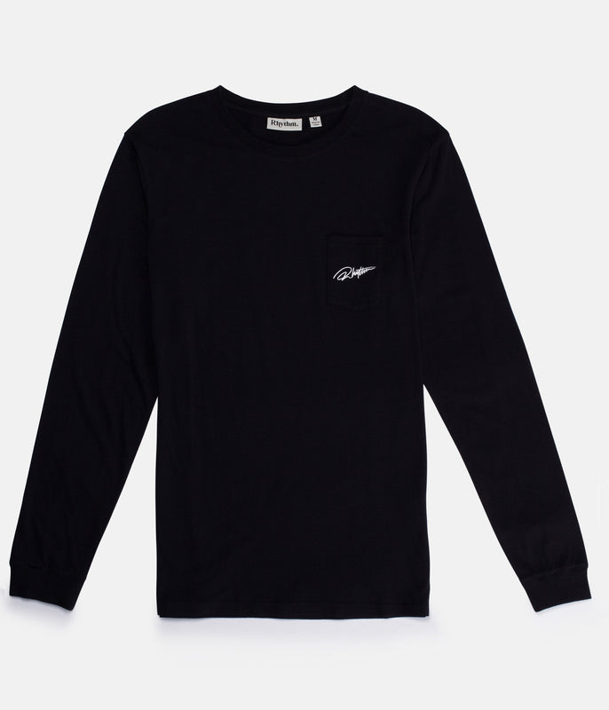 SIGNATURE LS T-SHIRT BLACK