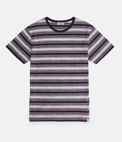 EVERYDAY STRIPE T-SHIRT VINTAGE NAVY
