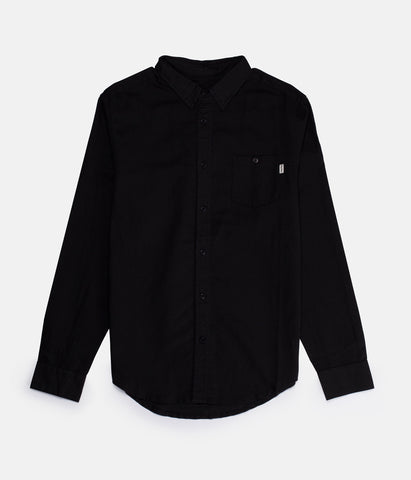 APARTMENT LS SHIRT BLACK