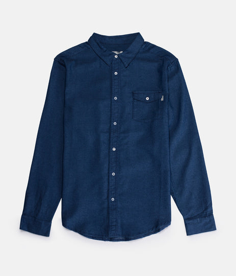 DEAN LS SHIRT DENIM