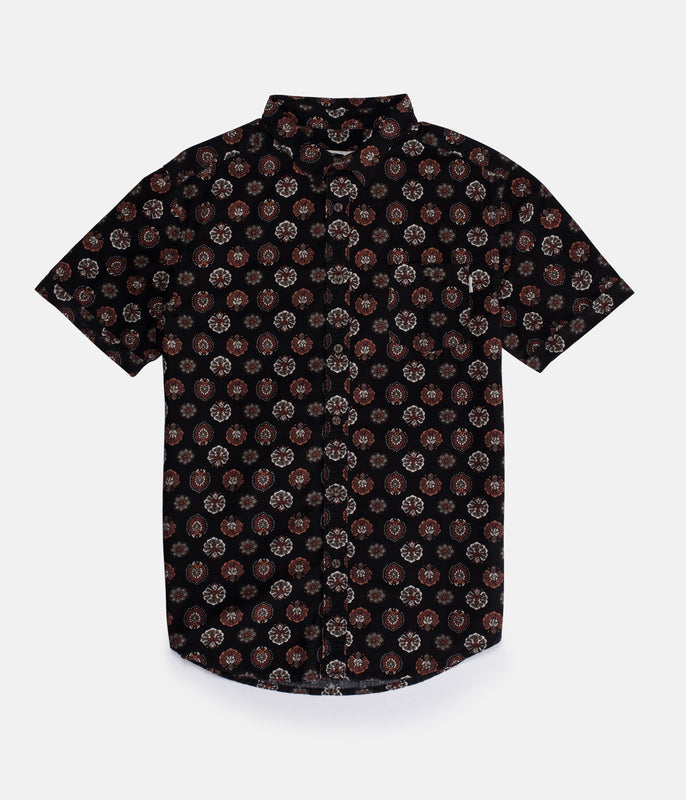 CASABLANCA SS SHIRT BLACK
