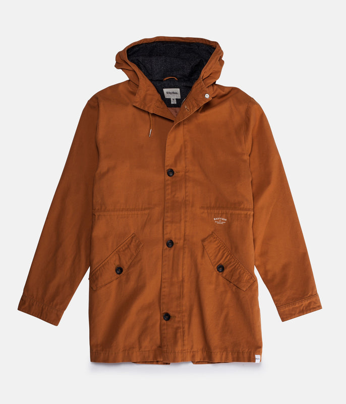 NEVERMIND JACKET TOBACCO