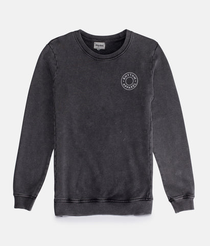 WASHED OUT PULLOVER BLACK WASH