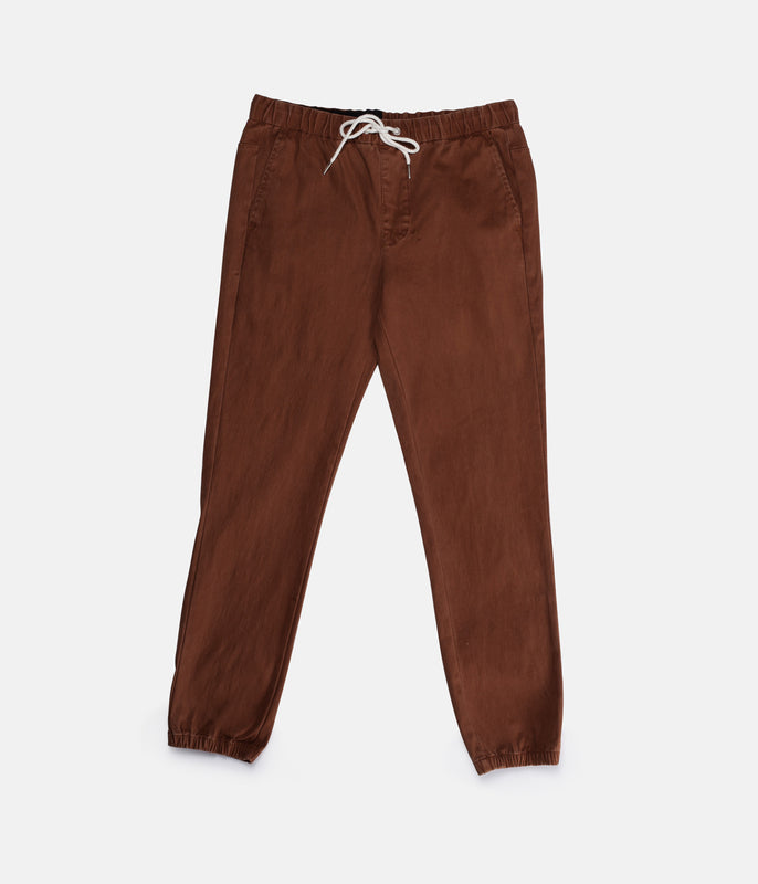 CHARLIE TRACK PANT RUST