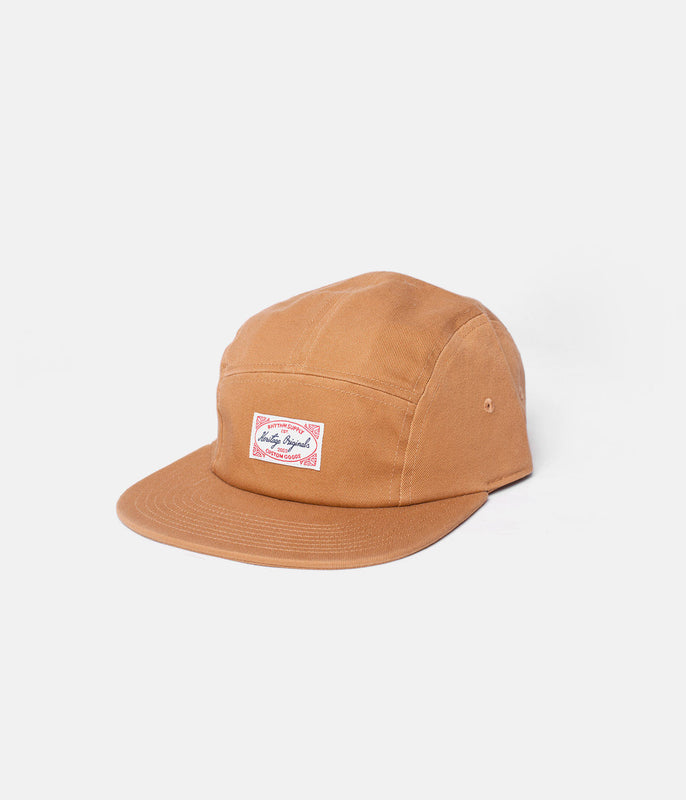 MESSENGER CAP VINTAGE BROWN