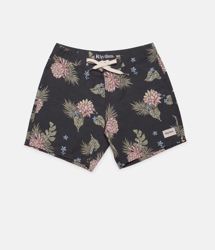 RETRO BLOOM TRUNK VINTAGE BLACK