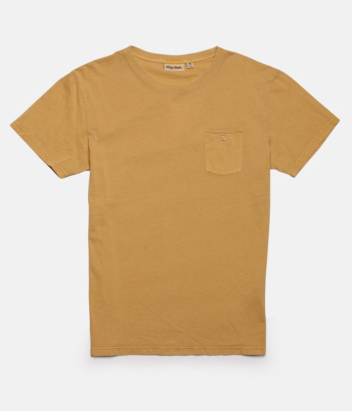 EVERYDAY WASH T-SHIRT TURMERIC