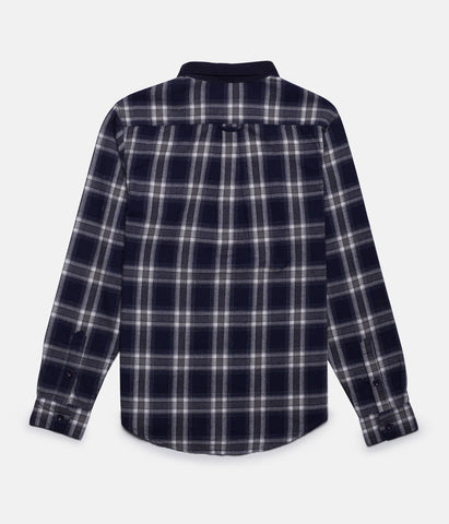 HARRISON LS SHIRT NAVY