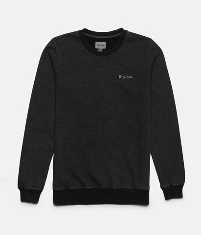 WASHED OUT PULLOVER DUSTED CHARCOAL