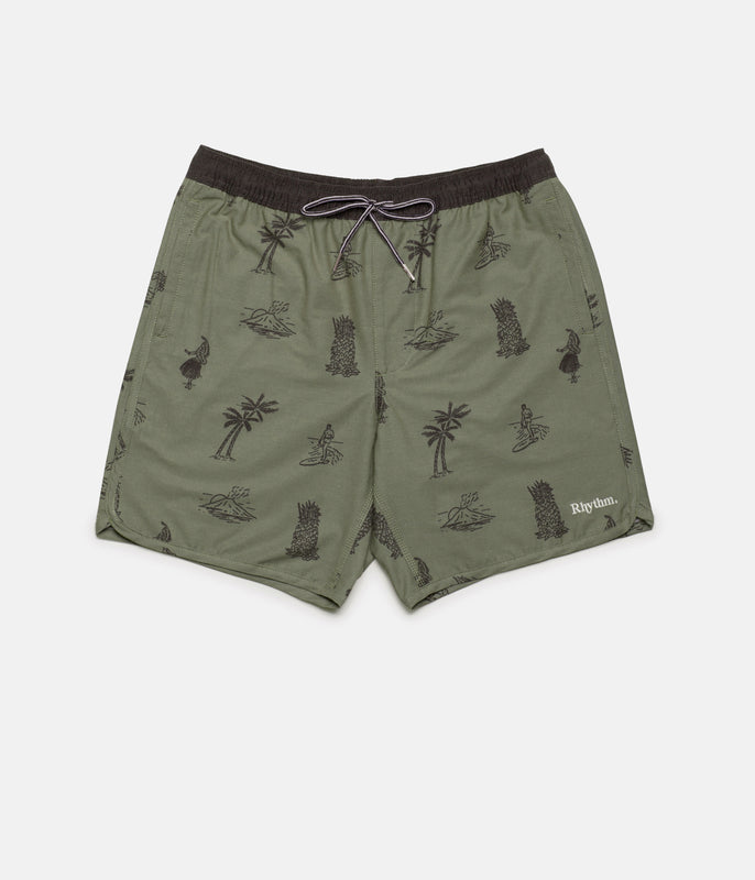 DUKE BEACH SHORT OLIVE