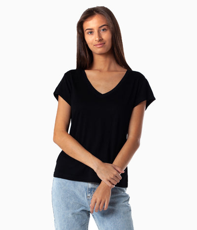 NATURAL SUNDAY TEE BLACK