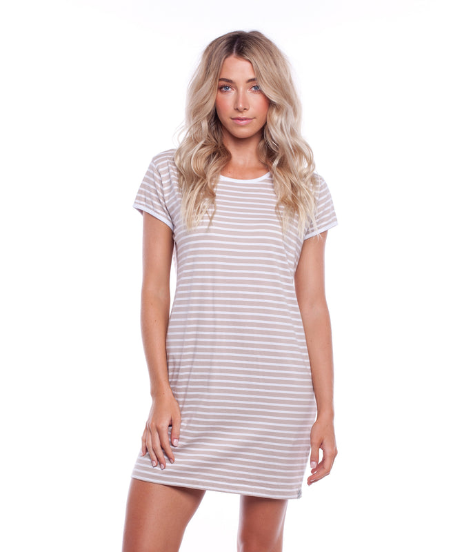 SWELL DRESS TAUPE