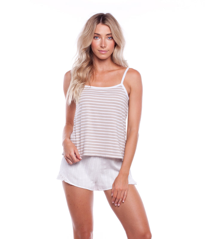 SWELL SINGLET TAUPE