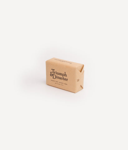 TRIUMPH & DISASTER- SHEARERS SOAP