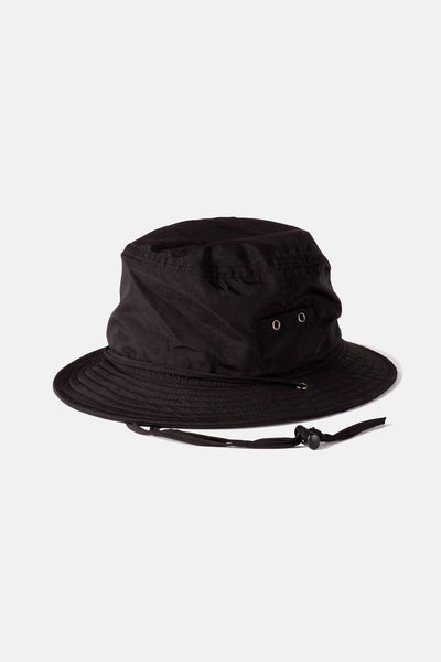 Surf Bucket Hat Vintage Black
