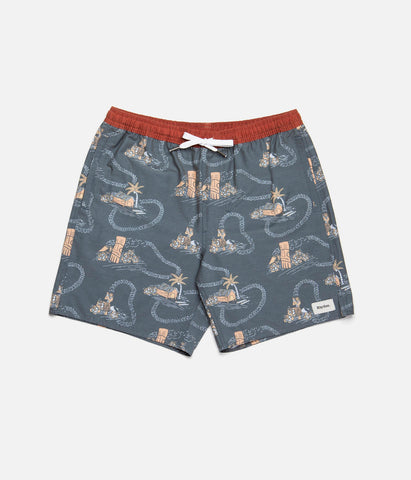VINTAGE LEI BEACH SHORT NAVY