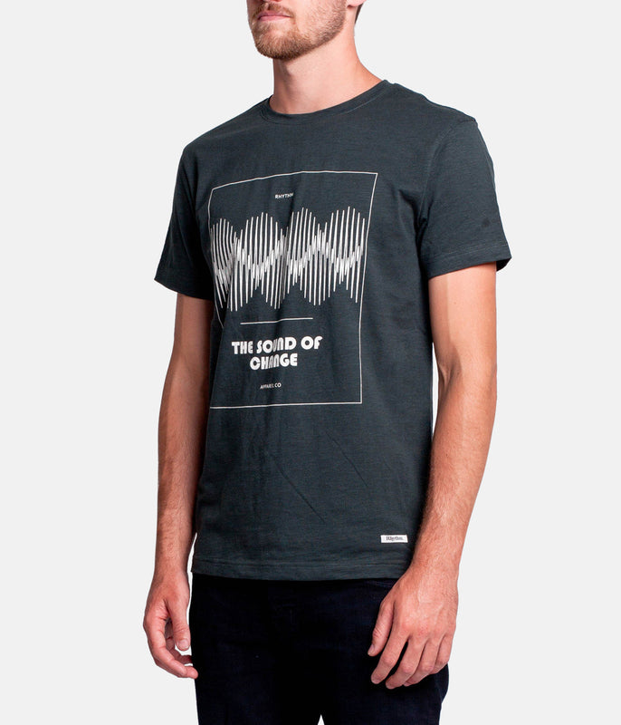 WAVES T-SHIRT SLATE