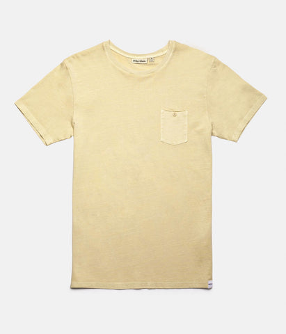 EVERYDAY WASH T-SHIRT SUNBLEACHED YELLOW