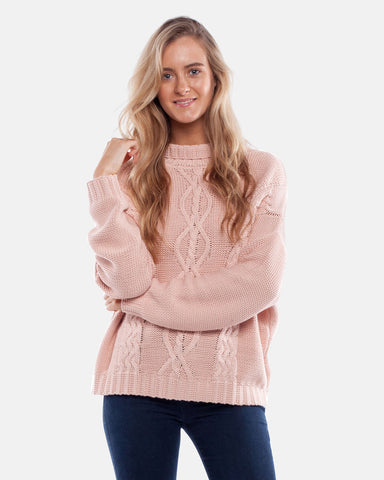 YACHT KNIT ROSE QUARTZ