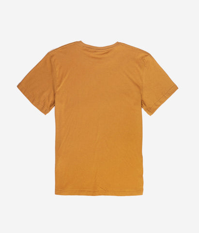 YOUTH SCRIPT T-SHIRT TOBACCO