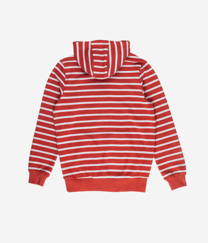 YOUTH STRIPE HOOD CLAY
