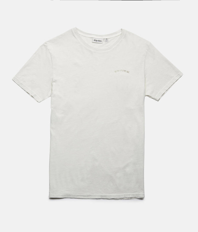 ALOHA T-SHIRT OLD WHITE